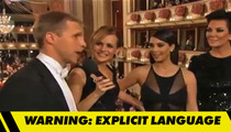 Holy Crap!  The Kim Kardashian Guy Really Said, 'N****RS In Vienna'