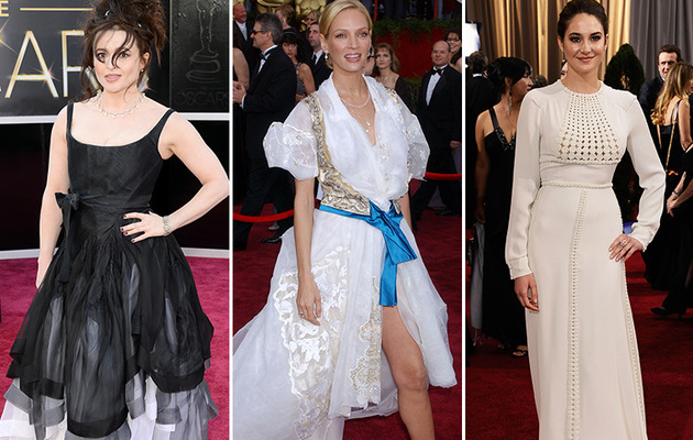 See the Worst Dressed Stars of Oscars' Past!