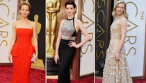 2014 Academy Awards Fashion -- The Hits, Runs and Errors