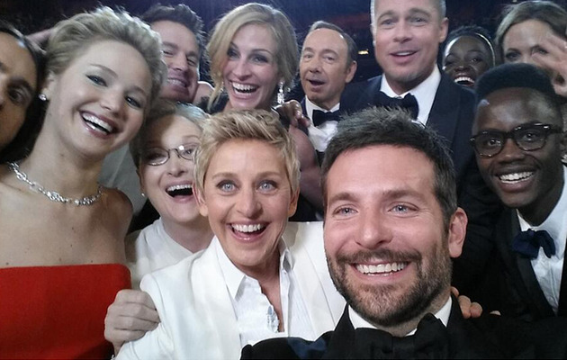 The Most Epic Selfie of All Time Happened at the Oscars