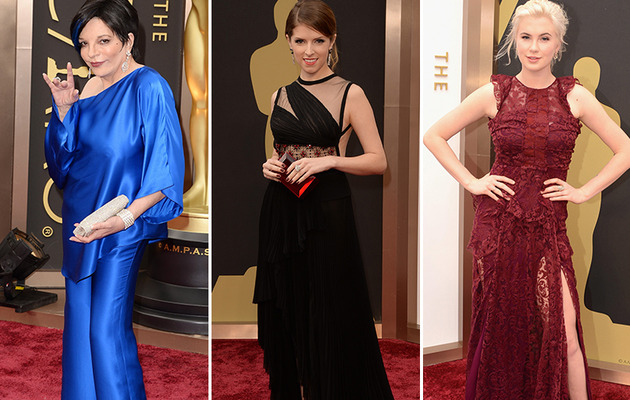 86th Annual Academy Awards -- See The Worst Dressed Stars!