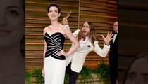 Anne Hathaway -- PHOTOBOMBED ... By Prettiest Oscar Winner Ever (Arguably)