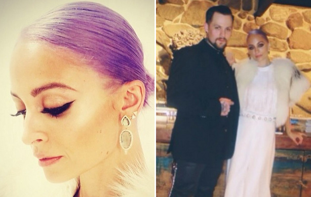 Nicole Richie Dyes Her Hair Pastel Purple -- Like the Look?