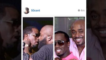 50 Cent Retreats -- After Suggesting Diddy & Rick Ross Are Gay Lovers