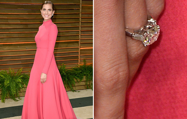 Allison Williams Shows Off Engagement Ring for the First Time