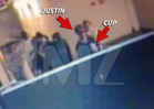 Justin Bieber -- Styrofoam Cuppin' in Atlanta Nightclub -- Sign of Sizzurp [VIDEO]