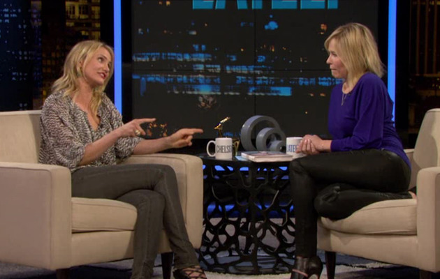 Video: Cameron Diaz Shares Vagina Health Tips With Chelsea Handler!