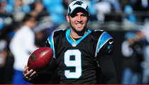 Carolina Panthers Star Graham Gano -- I'm a Daddy Again! ... Teammate Sends Mamaroo