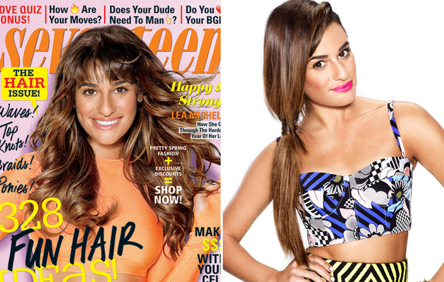 Lea Michele: Cory Monteith Was Not His Addiction