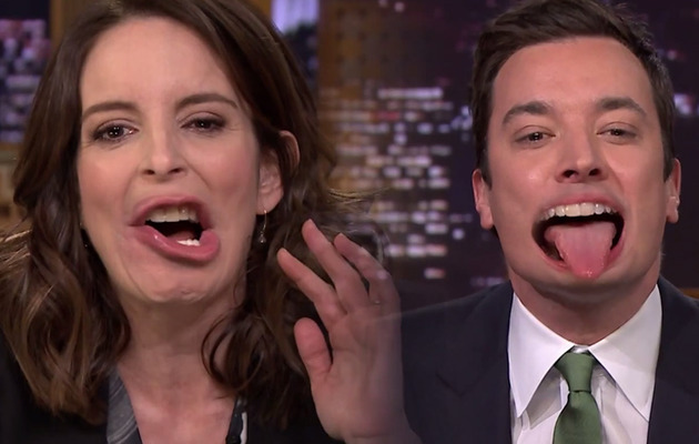 "Watch Tina Fey & Jimmy Fallon Flip Lips and Perform ""Endless Love!"""