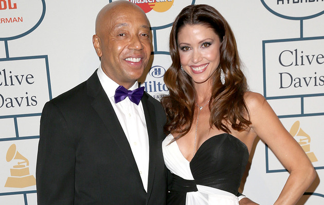 "Russell Simmons Describes ""Very New"" Shannon Elizabeth Relationship"