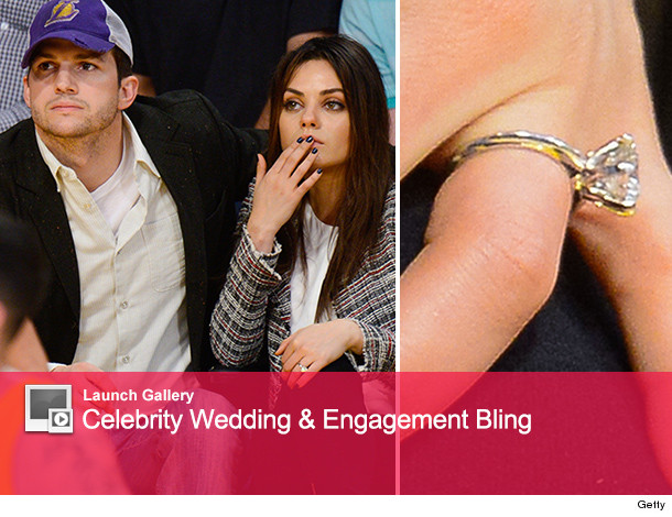 Mila Kunis Flashes Engagement Ring on Date Night With Ashton Kutcher