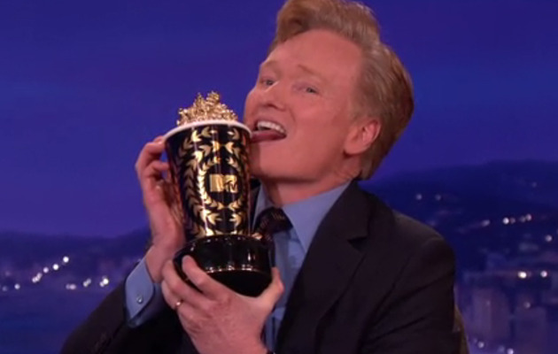 Conan O'Brien Lands MTV Movie Awards Hosting Gig -- See His Funny Announcement!