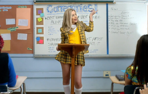 "Iggy Azalea Channels ""Clueless"" in New Video For ""Fancy"""