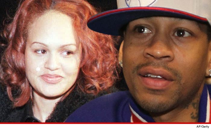 Iverson naked wife