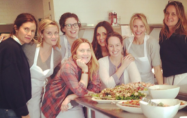 Drew Barrymore, Reese Witherspoon & Cameron Diaz Have a Girls' Getaway in Napa!