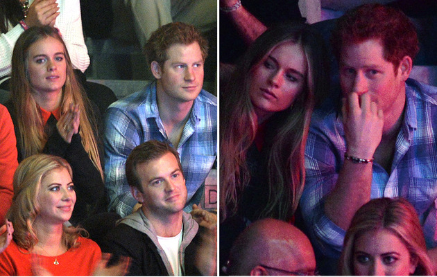 Prince Harry Brings Girlfriend To First Official Royal Function!