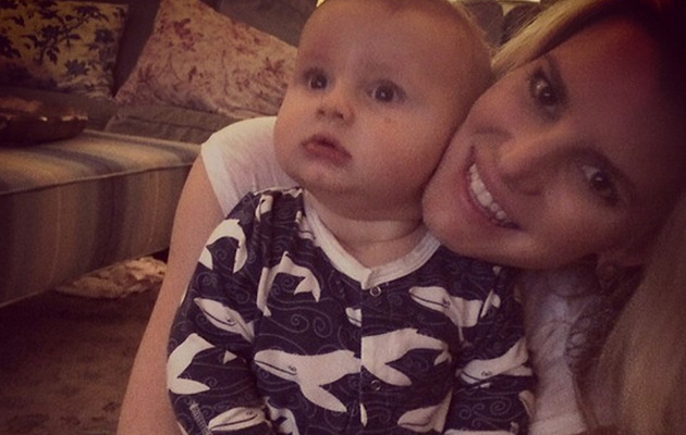 "Jessica Simpson Shares Cute Pics of ""Most Beautiful Kids"" Maxwell & Ace!"