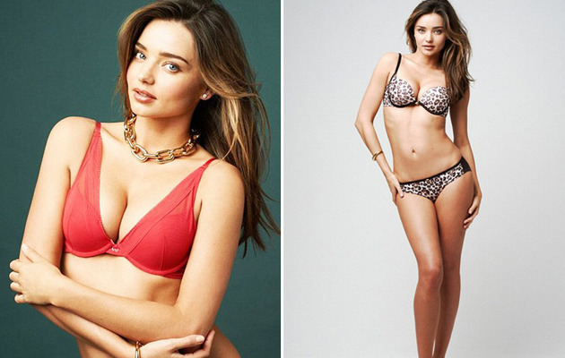 Miranda Kerr Named the Face (and Cleavage) of Wonderbra!