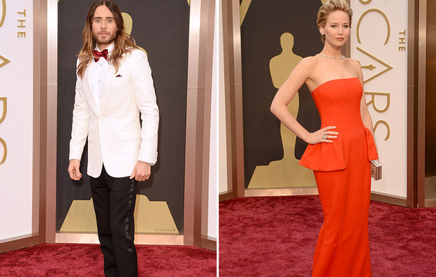 "Jared Leto Questions Jennifer Lawrence's Oscar Fall: ""I Wonder If It's All An Act"""