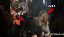 Michelle Rodriguez & Cara Delevingne -- Grind Out a Threesome with Beyonce's Dancer