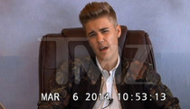 Justin Bieber -- A Mash-Up Study in Exaggeration