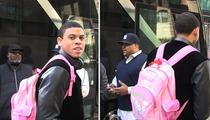 Sacramento Kings Rookie -- I've Got a Hello Kitty Backpack ... AND I MAKE IT LOOK GOOD!