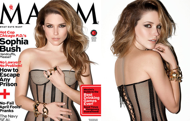 Sophia Bush Looks Super Sexy on the Cover of Maxim!