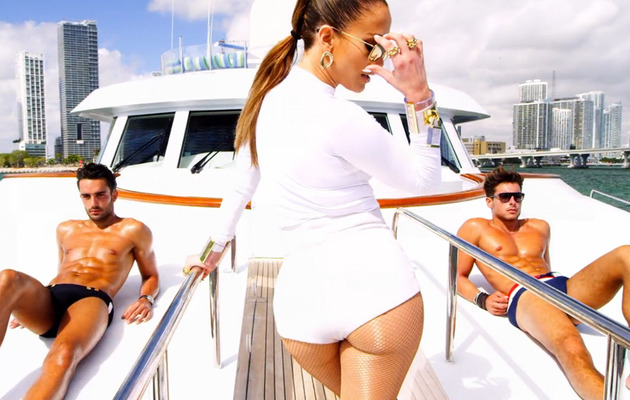 "Jennifer Lopez Objectifies A Whole Lotta Men In ""I Luh Ya PaPi"" Video"