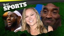 TMZ Sports Show: LeBron James -- Help Me Samsung!! I Broke My Phone