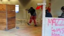 Warren Sapp -- IN THE LINE OF FIRE ... At Florida Combat Range