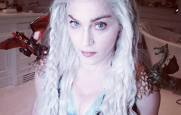 "Madonna Dresses as Everyone's Favorite ""Game of Thrones"" Character for Purim"