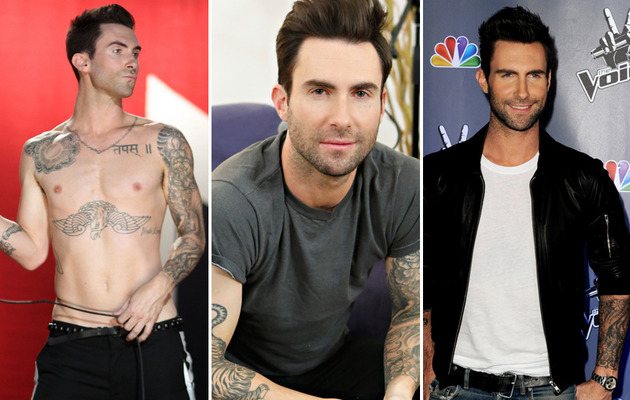 Adam Levine Turns 35 -- See His Sexiest Shots!