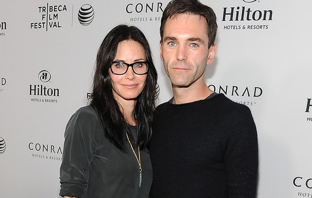 Courteney Cox Makes Red Carpet Debut With Boyfriend Johnny McDaid