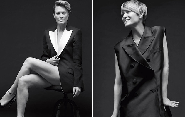 Robin Wright Opens Up About Ben Foster & Chopping Off Her Hair