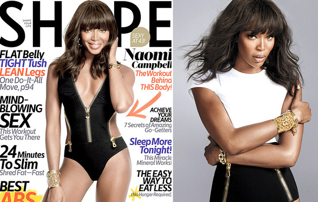 Naomi Campbell Flaunts Swimsuit Bod At 43 -- And Looks AMAZING!