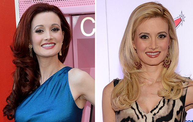 Holly Madison Shows Off New Red 'Do -- Like the Look?