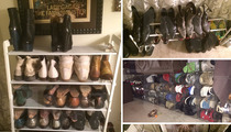 Johnny Weir's Shoe Collection -- Puts Imelda Marcos to Shame