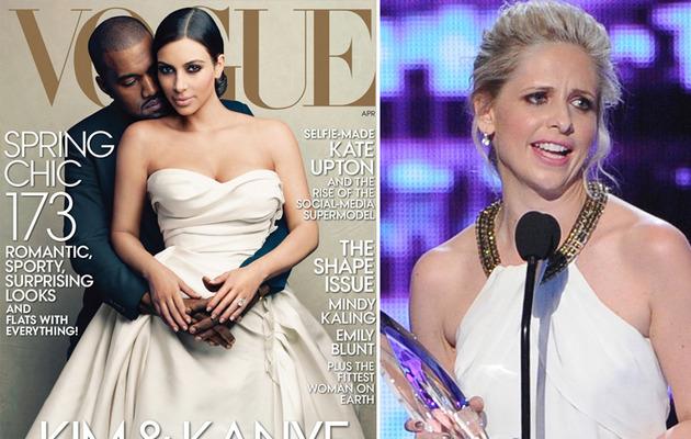 Sarah Michelle Gellar Disses Kim Kardashian Vogue Cover