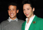 Johnny Weir Takes Dog As Sobbing Husband Watches