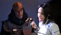 Rosario Dawson -- Causes Star Trek Nerdgasm with Her Tongue