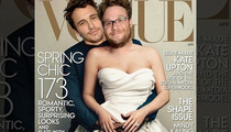 James Franco and Seth Rogen -- We're More Vogue than Kim and Kanye
