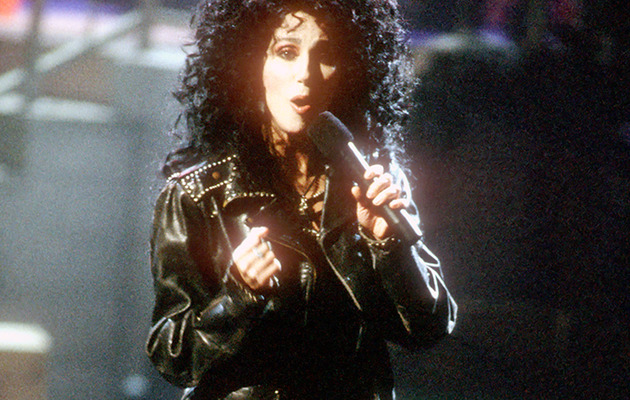 "Cher Slips Into ""Turn Back Time"" Costume 25 Years Later"