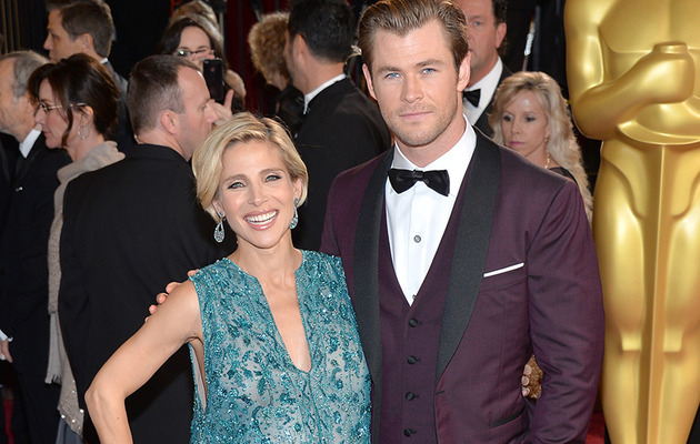 Chris Hemsworth & Elsa Pataky Announce Twins' Names -- See First Photo!