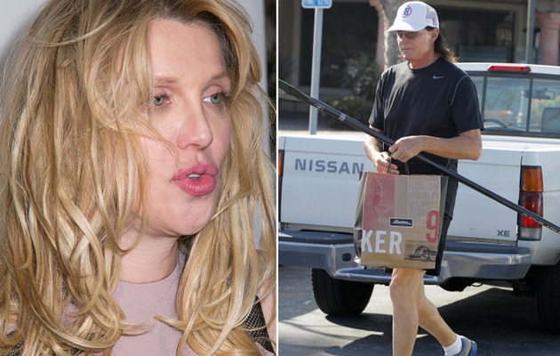 "Courtney Love Slams Bruce Jenner's New Look: ""Something Is SO Up with That Guy"""