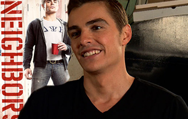 """Neighbors"" Star Dave Franco Tells Naked Foam Parties & Hazing Tales"