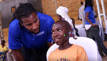 Larry Fitzgerald -- RETURN FROM RWANDA ... After Hearing Aid Mission