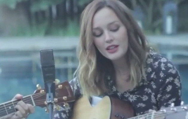 "Leighton Meester Sings a Cover Of Fleetwood Mac's ""Dreams"""