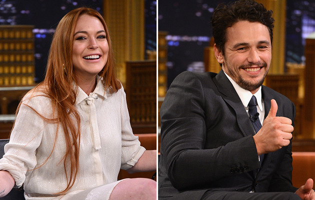 James Franco Denies Hooking Up with Lindsay Lohan