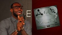 LeBron James Rap Session is EPIC -- I Got Yachts, Watches and RINGS!!!